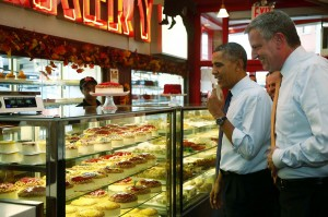 President Obama at Junior's